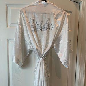 Victoria Secret Bride White robe